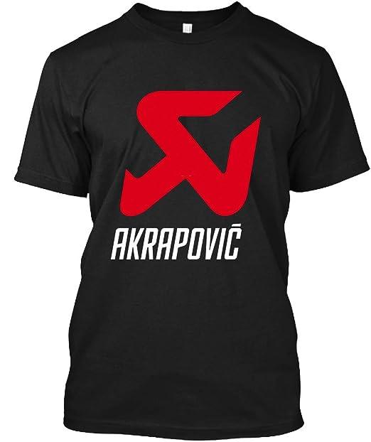 Amazon.com: JohnTee AKRAPOVIC 40 - Camiseta para hombre y ...