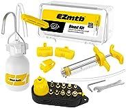 Hydraulic Mineral Disc Brake Bleed Kit Tool,Mountain Bike Hydraulic Disc Brake DOT and Mineral Oil Bleed Kit f