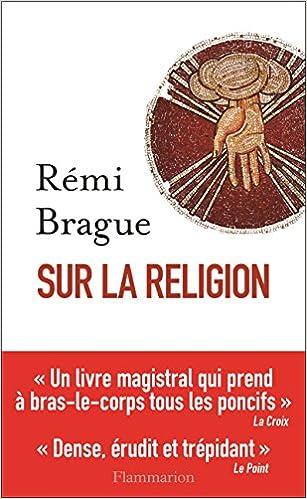 Couverture Sur la religion