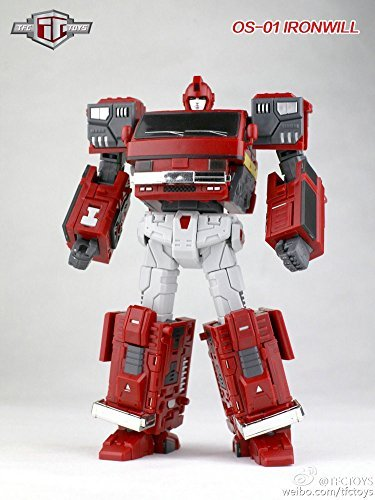 Transformers TFClub TFC Old Time OS-01 Ironwill Ironhide