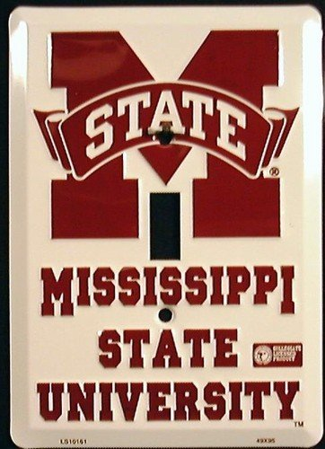 Mississippi State University Light Switch Covers (single) Plates LS10161 ()