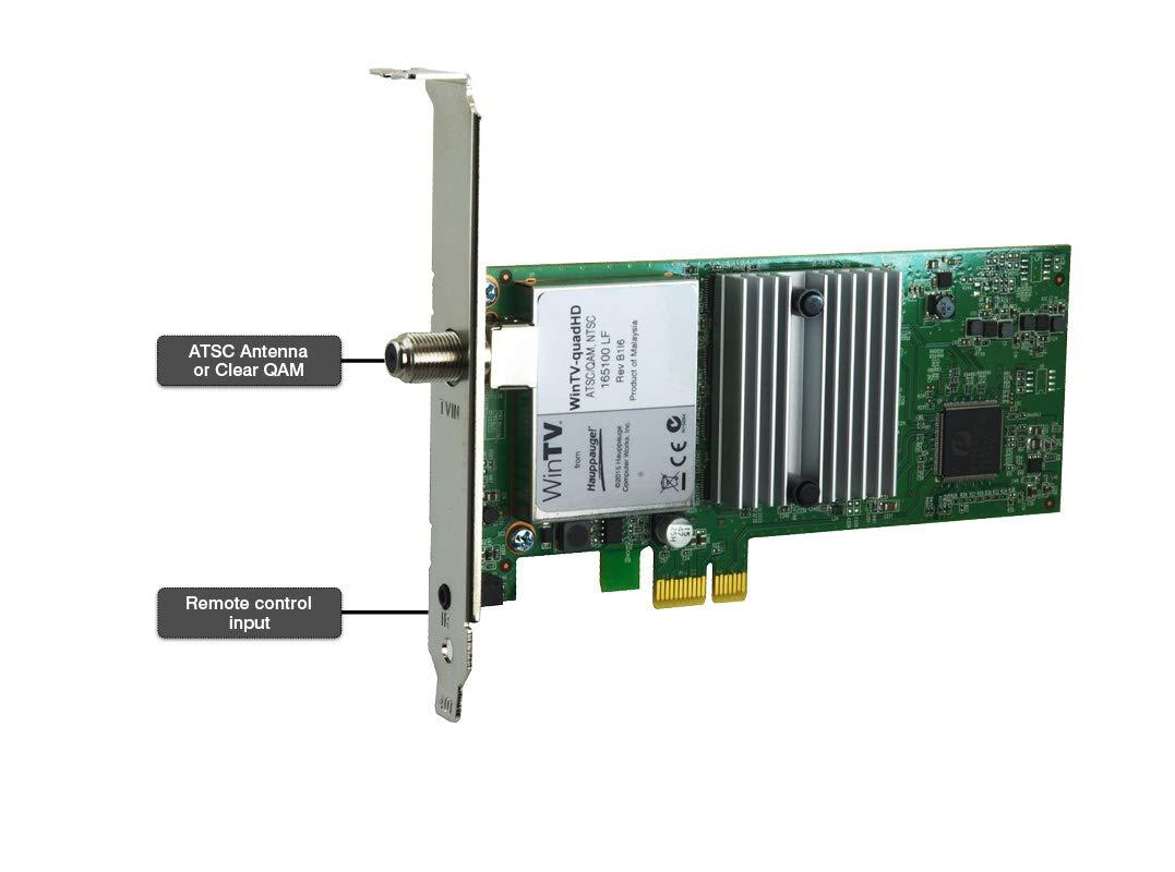 HAUPPAUGE WinTV-quadHD PCI Express TV Tuner Card 1609 by Hauppauge