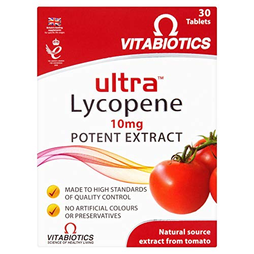 Ultra Lycopene Tablets - Pack of 30 Tablets