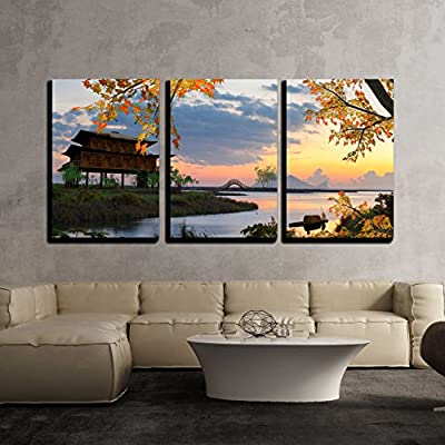 Beautiful Landscape for adv or Others Purpose use x3 Panels 36
