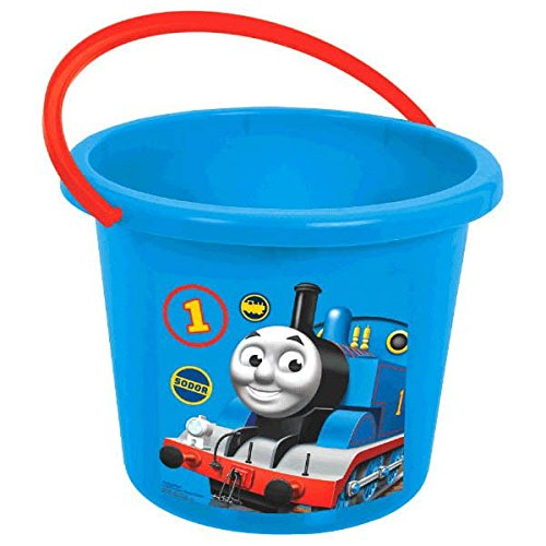 Engine Tank Box Thomas - Amscan Thomas The Tank Engine Party Jumbo Favor Bucket, Blue/Red, 7