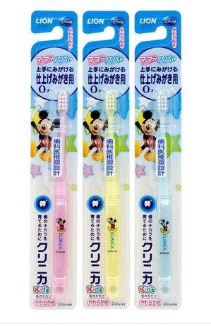Motif LION Mickey bébé enfants Brosse à dents 0,5-3 ans 1PC (importés du Japon)