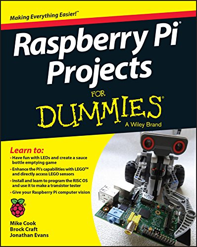 Raspberry Pi Projects for Dummies (1st 2015) [Cook, Evans & Craft]