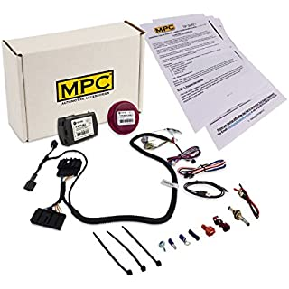 Sale MPC Complete Remote Start Kit for 2013-2019 Ford Fusion - Uses OEM Remotes-Prewired - Includes Required Flash Link Updater