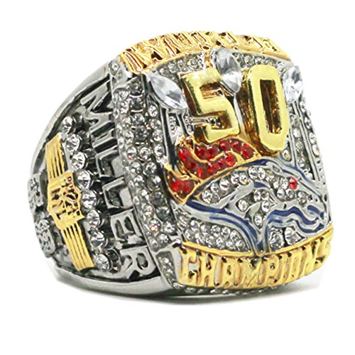 - 2015 Men's Denver Bronco Miller Championship Rings