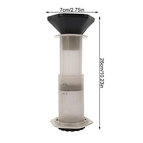 Amazon.com: Cafetera portátil a presión con filtro de café ...