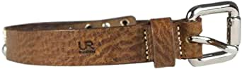 UR vintageous Brown Leather Belt For Women