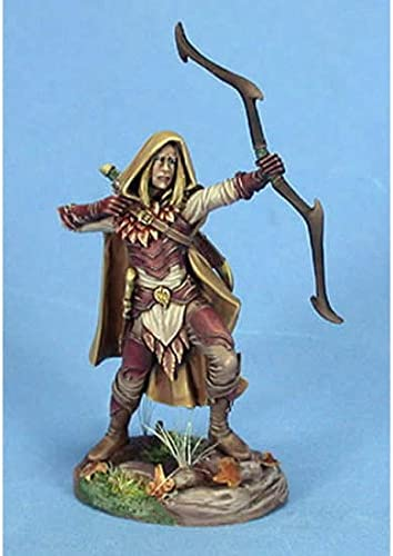 Amazon Com Male Wood Elf Archer Miniature Visions In Fantasy Dark Sword Miniatures Toys Games