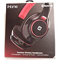 iHome iB92B Bluetooth Wireless Headphones