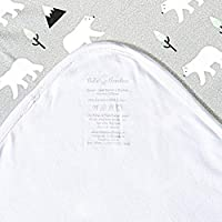 Polar Bear Sand Bamboo Bebe Double Layer Blanket