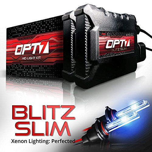 OPT7 Blitz Slim HID Kit 6000k