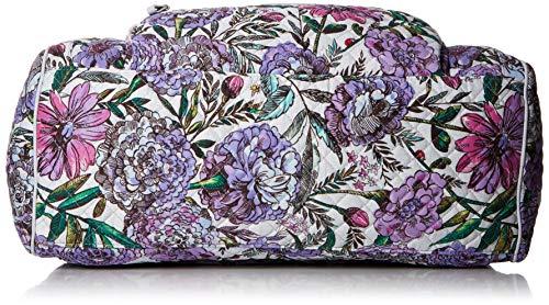 51uWJN4hrsL - Vera Bradley Iconic Compact Weekender Travel Bag, Signature Cotton, Lavender Meadow