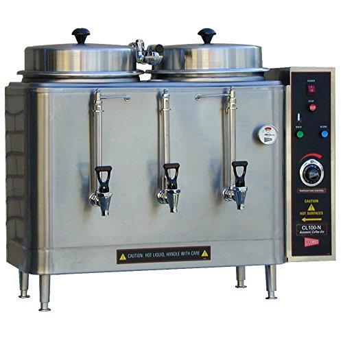 - Grindmaster-Cecilware CL100N Twin Coffee Urn, 3-Gallon