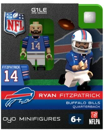 0d99b2af35b Buy NFL Buffalo Bills Ryan Fitzpatrick Figurine Online at Low Prices in  India - Amazon.in