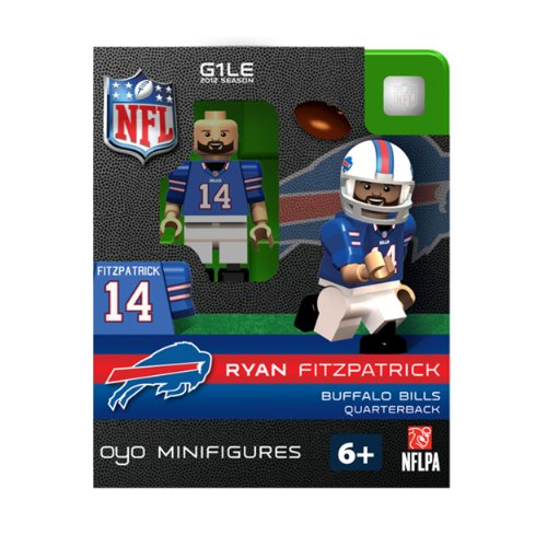 NFL Buffalo Bills Ryan Fitzpatrick Figurine