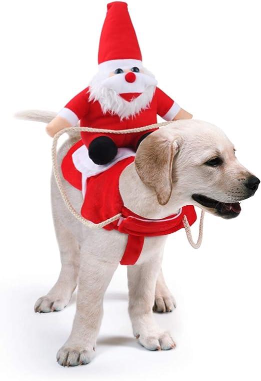 Disfraz de Halloween para Perro Divertidos Disfraces de Cosplay Idepet Disfraz de Mascota Gatos Cachorro Disfraz de Le/ón Navidad Ropa Divertida