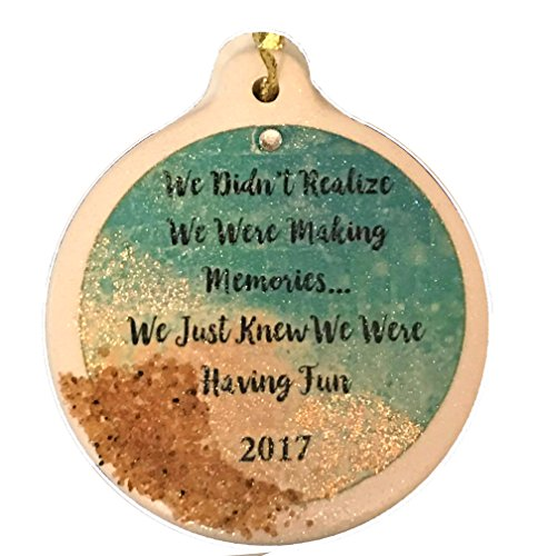Making Memories Porcelain (We Didn't Didn't Realize We Were Making Memories Just Having Fun 2017 Porcelain Ornament Friends Rhinestone)