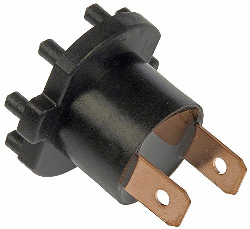 (APDTY 756651 Headlight Low Beam Bulb Holder Socket Connector Fits 2004-2009 Mazda 3 2006-2010 Mazda 5 2001-2003 Protégé & Protege5 (Sold Individually; Replaces B28V-51-0A3, B28V-51-0A3A))