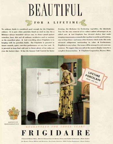 amazon com great color 1931 advertisement for frigidaire lifetime