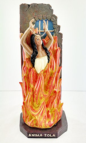 115-Inch-Anima-Sola-Statue-Lonely-Soul-Purgatory-Collectible-Religious-Figurine