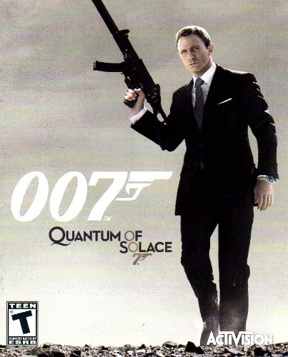 007 - Quantum of Solace PS3 Instruction Booklet (Sony PlayStation 3 Manual ONLY - NO GAME) [Pamphlet ONLY - NO GAME INCLUDED] Play Station