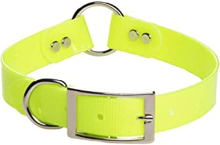 product image for Mendota Pet Biothane Synthetic Collar - Ceter Ring Safety Collar - Made in The USA - Waterproof, Odor Resistant