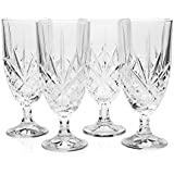 Godinger Dublin Crystal Set of 12 Iced Beverage Glasses