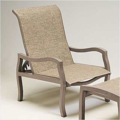 Amazon.com: Carson Sling Adjustable Lounge Chair Finish ...