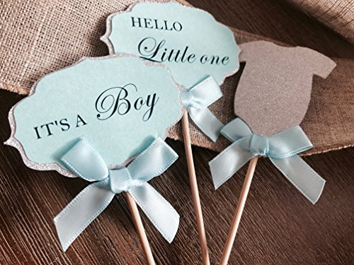 baby shower cupcake decorations - 7