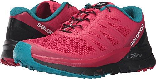 Salomon Women's Sense Pro Max Trail Running Athletic Sneakers, Pink, Mesh, Foam, 12 M by Salomon