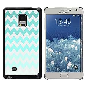 For Samsung Galaxy Mega 5.8 / i9150 / i9152 , S-type® Iridescent Green Colorful Gray - Arte & diseño plástico duro Fundas Cover Cubre Hard Case Cover