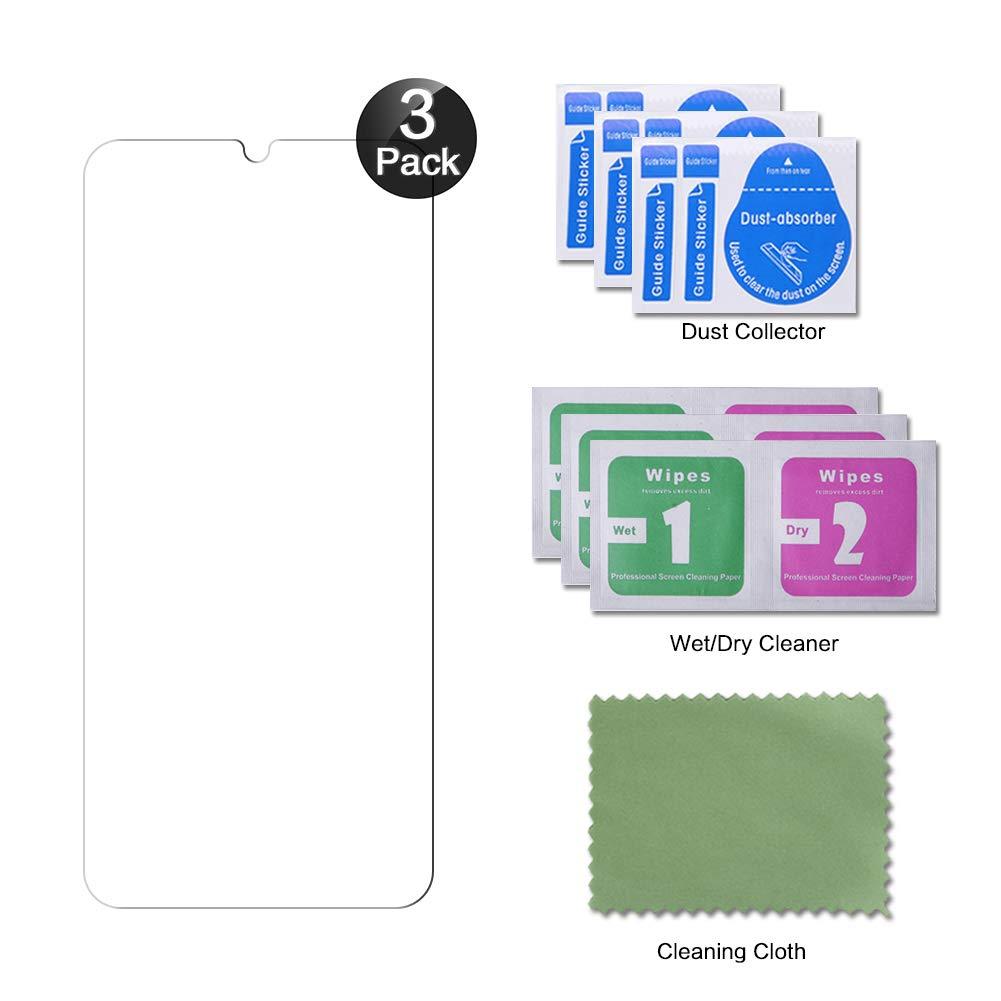 Alta Definicion Protector Pantalla Xiaomi Redmi Note 7 3 Unidades Protector Pantalla Xiaomi Redmi Note 7 // Note 7 Pro Hanbee Cristal Templado Xiaomi Redmi Note 7 // Note 7 Pro