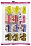 4-color Winter Traditional Japanese Mini-Confectionery Holiday Bundle (Japanese Import)