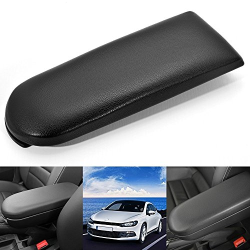Oem Center Console - LOOYUAN Oem Black Armrest Cover Center Console Latch for Vw Jetta Golf Bora Skoda Lavida