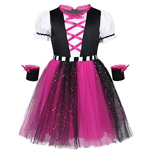 Caribbean Dance Halloween Costumes Kids - Yeahdor Kids Girls Halloween Pirate Princess