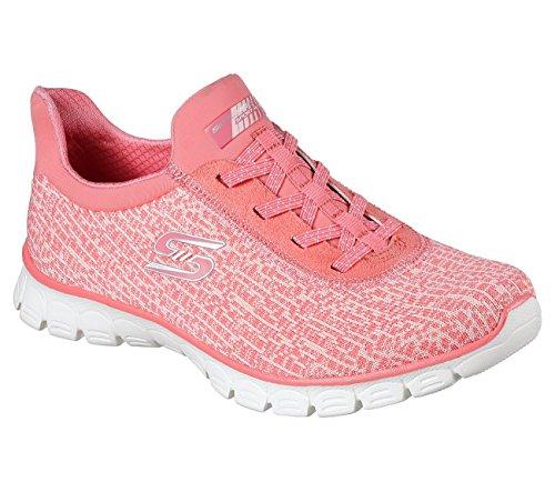 Sly 11 Slip Sneakers Coral EZ On N 0 Womens Swift Skechers 3 Flex g7wqxY4