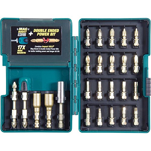 Mag Bit Holder - Makita B-46919 Impact GOLD 26 Piece Torsion Insert Bit Set