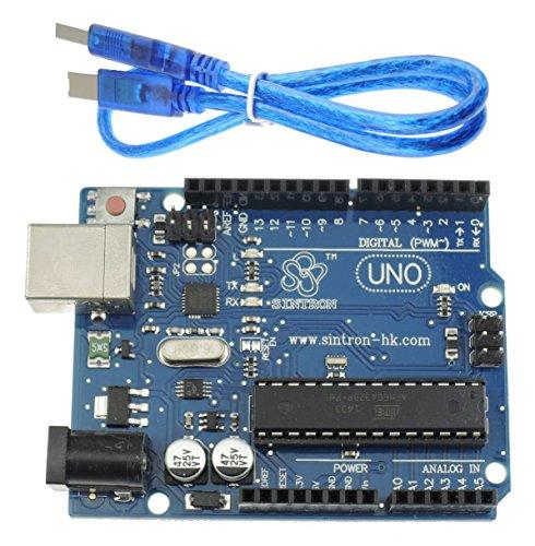 Sintron UNO ATMEGA328P Arduino including product image