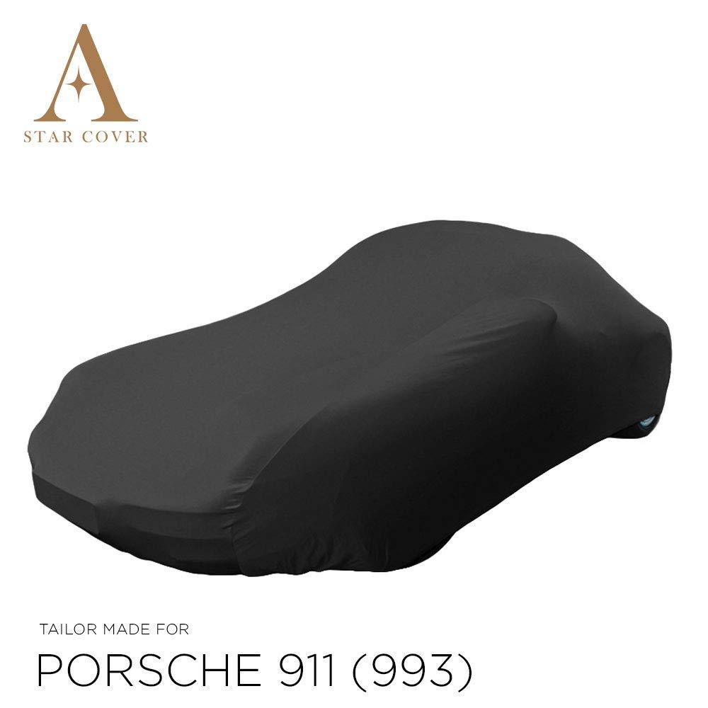 Star Cover AUTOABDECKUNG SCHWARZ Porsche 911 SCHUTZH/ÜLLE ABDECKPLANE SCHUTZDECKE 993