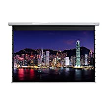 """EluneVision Titan Tab-Tensioned 106"""" 4:3 Motorized Projector Screen"""