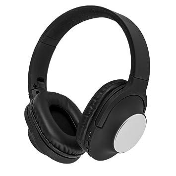 Akai A58069 - Auriculares inalámbricos con micrófono Integrado para Samsung, iPhone, iPad, Reproductores