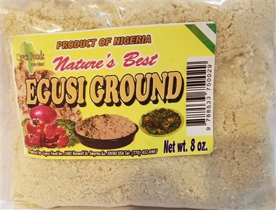 Nature's Best Egusi/Egushie, Ground 227g / 8 oz