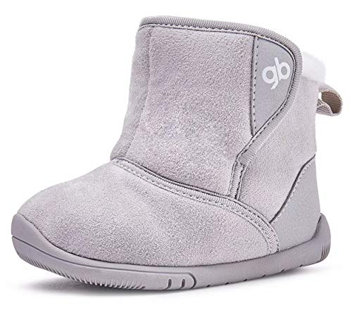 BMCiTYBM Baby Boots for Girls Boys Infant Winter Outdoor Lightweight Shoes
