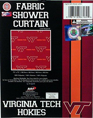 - NCAA Virginia Tech Hokies Shower Curtain - Multi-Colored