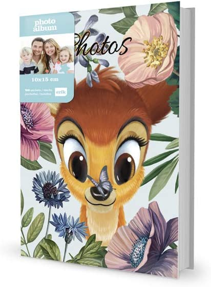 Grupo Erik AF100101504 Álbum de Fotos Disney Bambi, Marrón, 17 x 13 x 5,2 cm: Amazon.es: Hogar