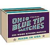Amazon Com Ohio Blue Tip Matches 250ct Box Home Amp Kitchen